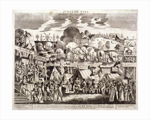 Jubilee Fair, Hyde Park, London by Anonymous