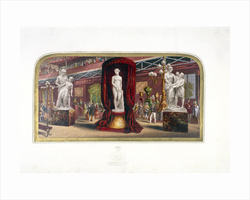 The gems of the Great Exhibition, no.3', Hyde Park, London, (c1854?) by Anonymous