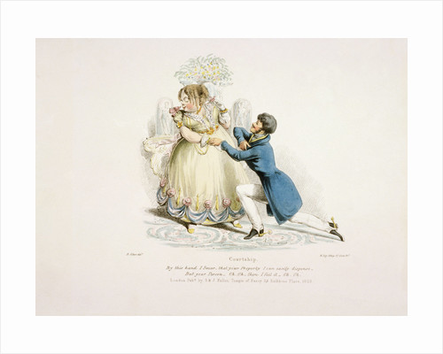 By this hand I swear that your property can easily dispense - but your person...oh, oh. by William Day