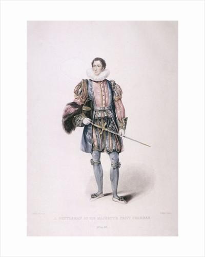 Gentleman in cerimonial costume by Henry Meyer