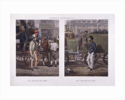 The Driver of 1832' and 'The Driver of 1852' by J Harris