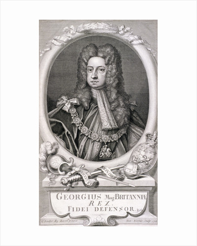 George I, King of Great Britain by John Seymour Lucas