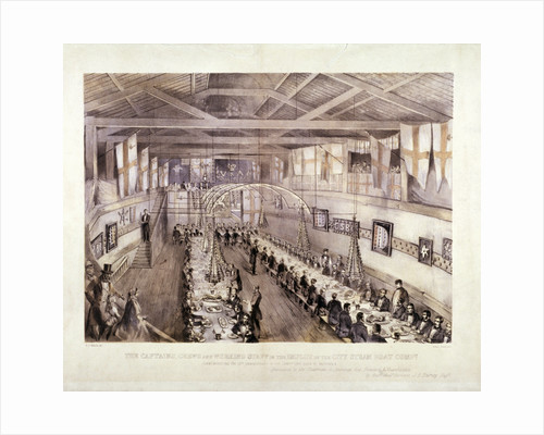 Celebration of the 13th anniversary of the City Steam Boat Company, Battersea, London by Anonymous