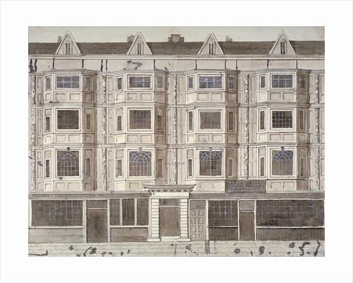 Aldersgate Street, London, c1820(?) by Anonymous