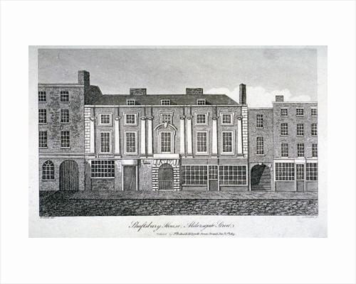 Shaftesbury House, Aldersgate Street, London by J Simpkins