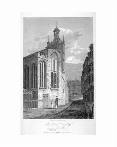 Church of St Andrew Undershaft, Leadenhall Street, London by John Greig
