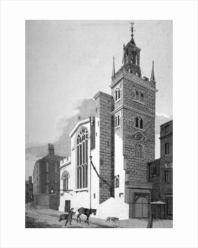 Church of St Andrew Undershaft, Leadenhall Street, London by Joseph Skelton