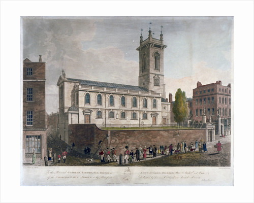St Andrew Holborn, London by Frederick Christian Lewis