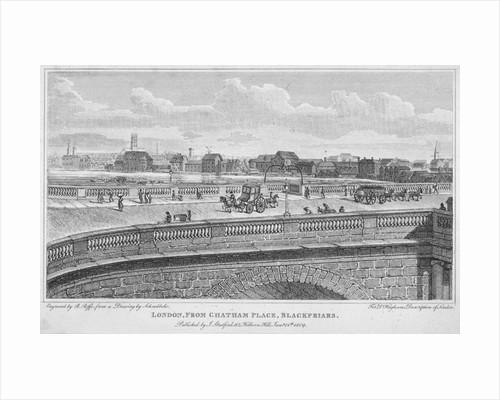 Blackfriars Bridge, London by R Roffe
