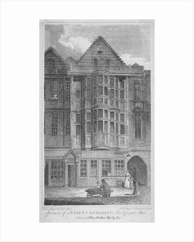 Sir Paul Pindar's house, Bishopsgate, City of London by John Greig