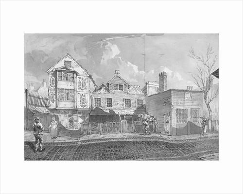 Sir Paul Pindar's House, Bishopsgate, City of London by Robert Blemmell Schnebbelie