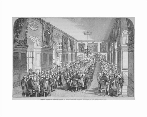 Bridewell Hall, City of London by Anonymous