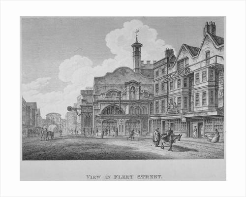 Fleet Street, City of London by William Watts