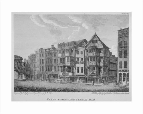 Fleet Street, City of London by John Roffe