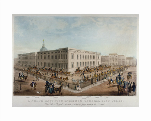 General Post Office, City of London by Anonymous