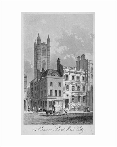 Cannon Street West, City of London by Anonymous
