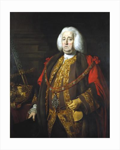 Sir Robert Kite, Lord Mayor 1766 by Anonymous