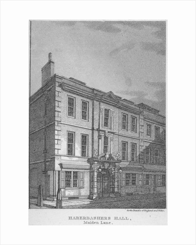 Haberdashers' Hall, City of London by John Crowther