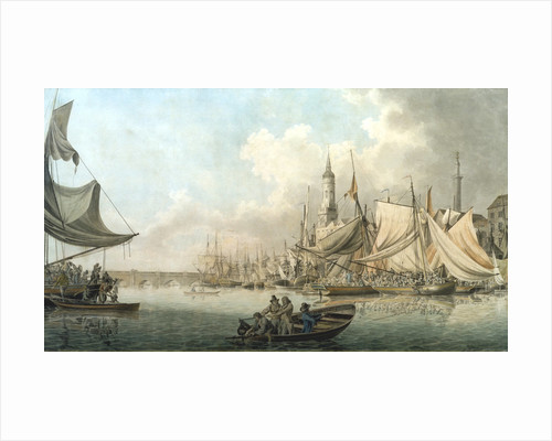 Billingsgate at High Water by Robert Clevely