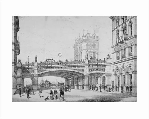 Farringdon Street and Holborn Viaduct, City of London by Corbis