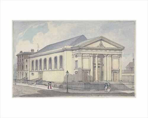 St Mary's Roman Catholic Church, Moorfields, City of London by Anonymous