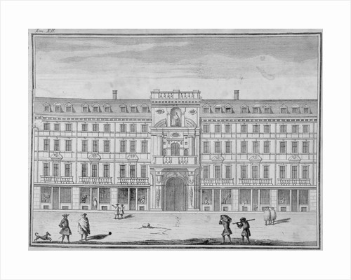 View of the Mercers' Company Hall and Chapel, Cheapside, City of London by Anonymous