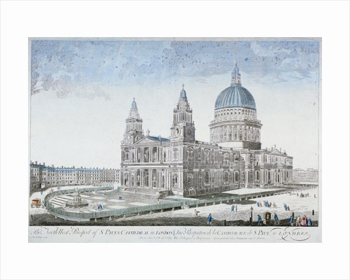 St Paul's Cathedral, City of London by NJB de Poilly