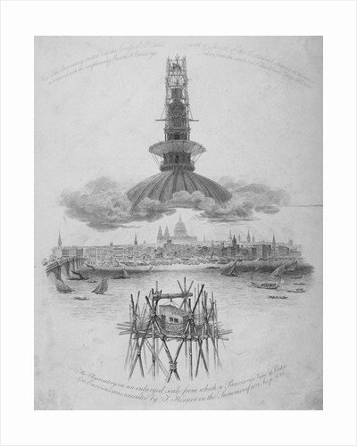 St Paul's Cathedral, City of London by Samuel Rawle
