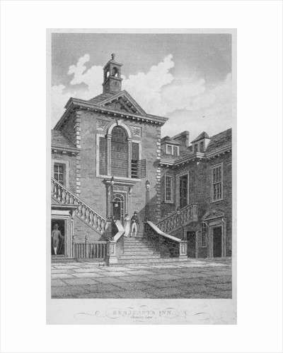 Serjeants' Inn, Chancery Lane, City of London by John Greig