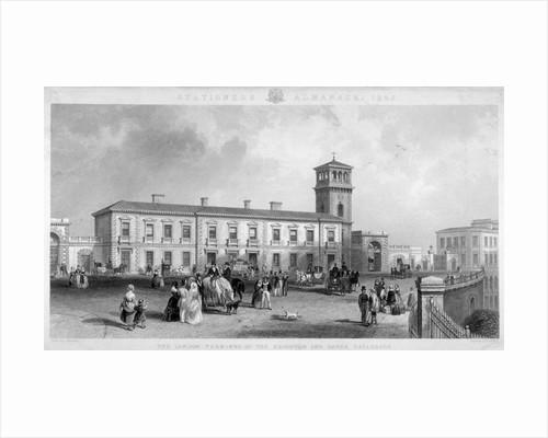 View of the London Bridge Station, Bermondsey, London by Henry Adlard