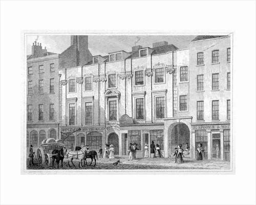 Shaftesbury House, Aldersgate Street, City of London by MS Barenger