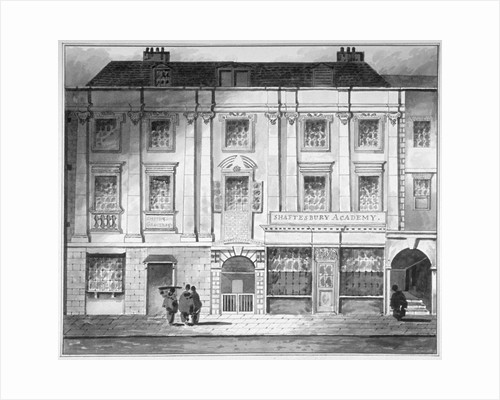 Shaftesbury House, Aldersgate Street, City of London by John King