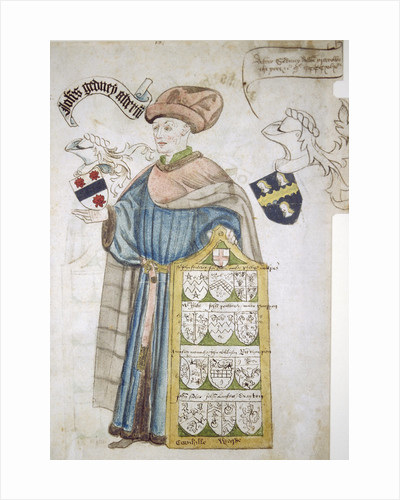 John Gedney, Lord Mayor of London 1427-1428 and 1447-1448, in aldermanic robes by Roger Leigh