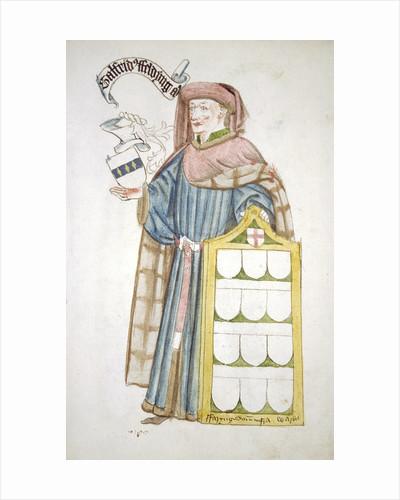 Geoffrey Feldynge, Lord Mayor of London 1452-1453, in aldermanic robes by Anonymous