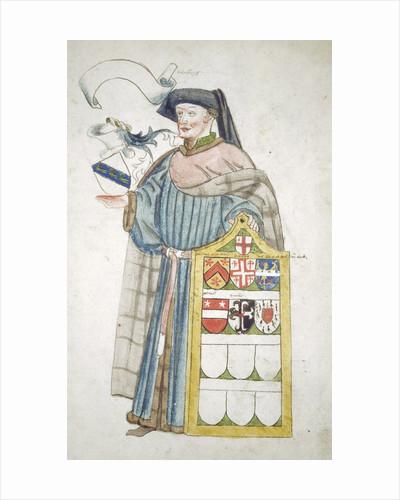 Unidentified London alderman in aldermanic robes by Anonymous