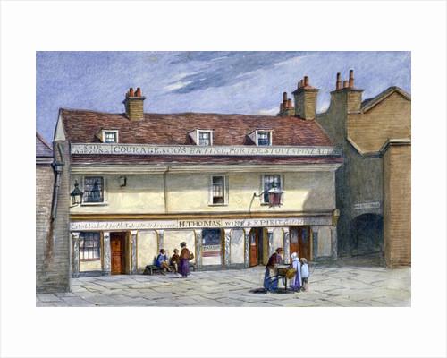 The Ship Aground public house, Wolseley Street, Bermondsey, London by John Chessell Buckler