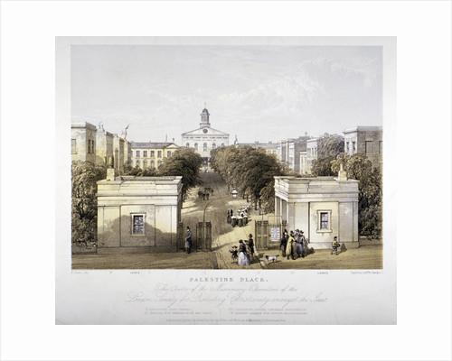 Palestine Place, Bethnal Green, London by F Jones