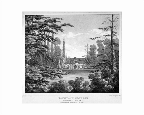 Fountain Cottage, Camberwell Grove, Camberwell, London by Anonymous