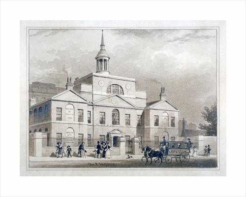 City of London Lying-In Hospital, City Road, Finsbury, London by Thomas Hosmer Shepherd