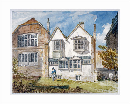 View of St Olave's School, Tooley Street, Bermondsey, London by Anonymous