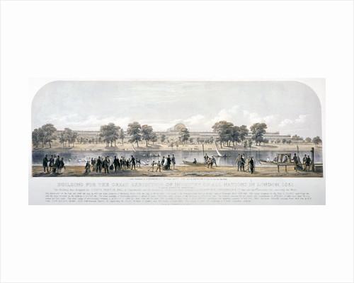 Great Exhibition, Hyde Park, London by T Vivares