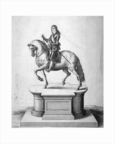 Statue of King Charles I, located at Charing Cross, Westminster, London by Anonymous