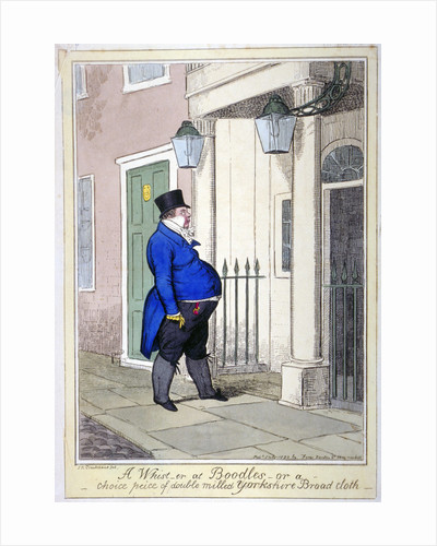 A whist-er at Boodles - or a choice peice [sic] of double milled Yorkshire broad cloth by Isaac Cruikshank