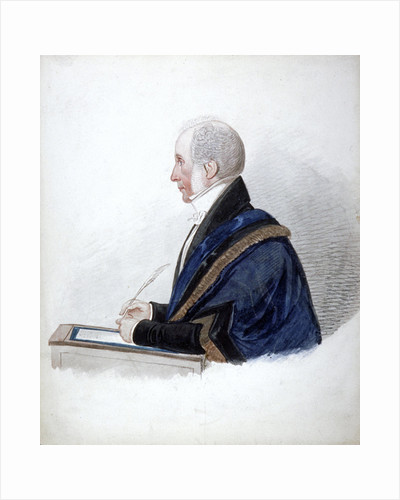 Samuel Wilson, Lord Mayor 1838 by Isaac Greenwood