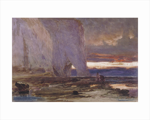 Beach and Cliffs by Edwin Ellis