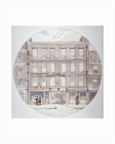 22 and 23 Farringdon Street, City of London by James Findlay