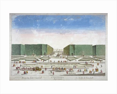 Vauxhall Gardens, Lambeth, London by Pierre Alexandre Wille