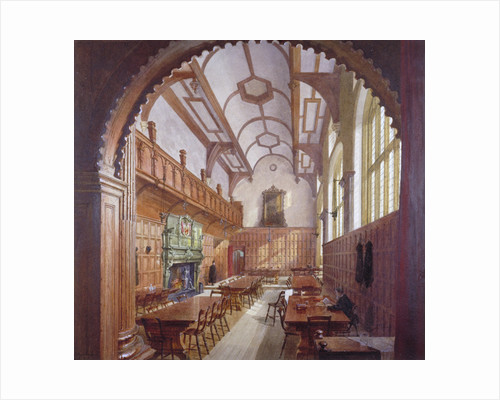 Great Hall, Charterhouse, London by John Crowther