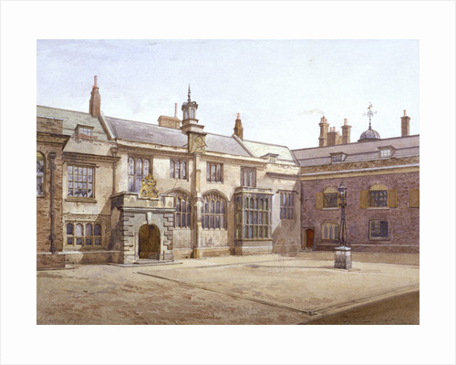 View of Sutton's Pensioners Hall, Charterhouse, London by John Crowther