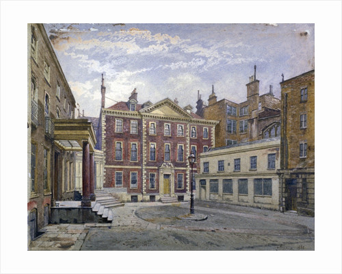 Austin Friars Street, City of London by John Crowther